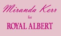 Miranda Kerr for Royal Albert