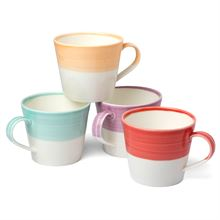 TAPAS SET OF 4 MUGS BRIGHTS