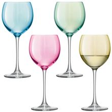 PASTEL WINE SET OF 4