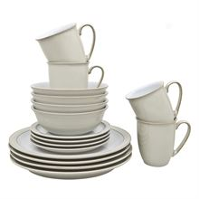 Linen 16 Piece Tableware Set