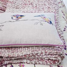 HARLEQUIN SALICE cushion and throw lifestyle