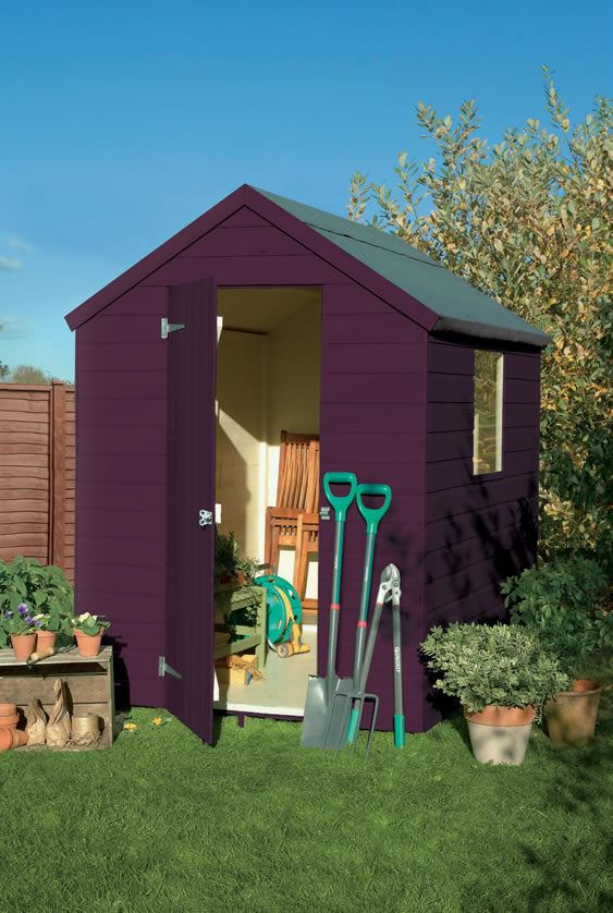 Painted Shed Ideas Cuprinol